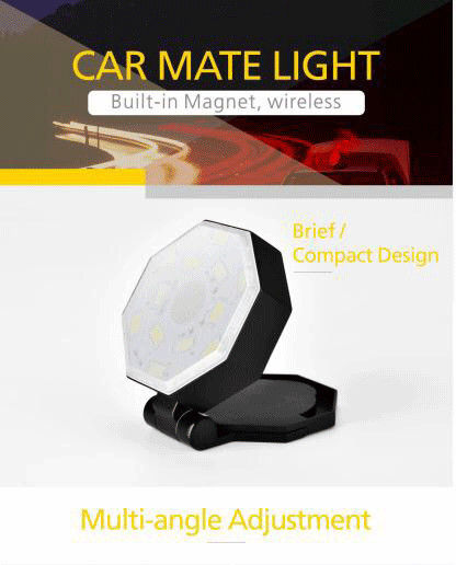 Caution Light Car Additional Accessories Multi Conditon Using Charging With USB Wire